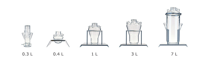 Fermentation vessel volume range